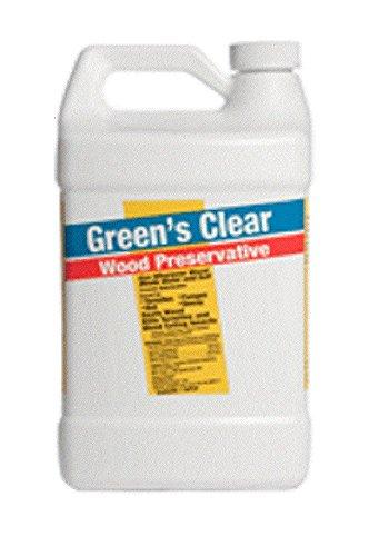 Copper Green 1 Gallon Clear Wood Preservative 32001