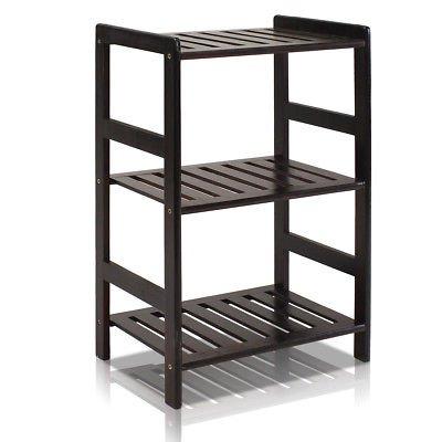 Ebern Designs Barkeyville Etagere Bookcase Espresso from Ebern Designs