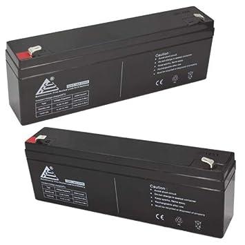 ExpertPower 12 Volt 2.3 Ah Rechargeable Battery //// EXP1223-2 Pack