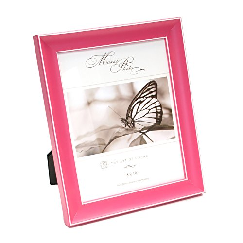 maxxi-designs-photo-frame-with-easel-back-5-x-7-pink-rainbow