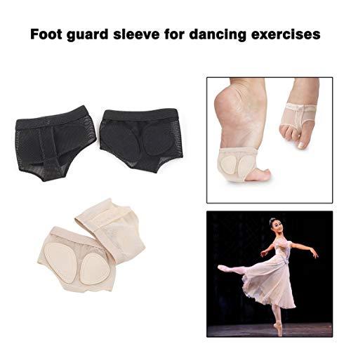 Confortable Soins Danse Ballet Belly Pad Chaussettes Chaussures Protect Toe set Fantasyworld String Pieds Pratique Une Des Pied Paire Accessoires ScwYcaqd