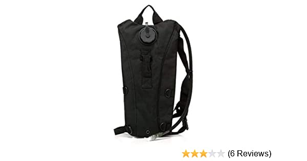 20bfa3f79201 HWZ US Army 3L 3 Liter (100 ounce) Hydration Pack Bladder Water Bag Pouch  Hiking Climbing Survival Outdoor Backpack Black