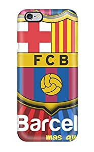 Ultra Slim Fit Hard Hotlove Case Cover Specially Made For Iphone 6 Plus- Barcelona Fc Logo