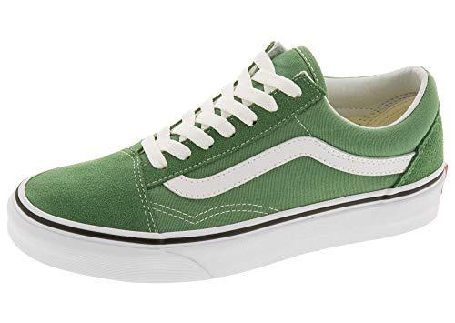 Vans Old Skool Deep Grass Green True White