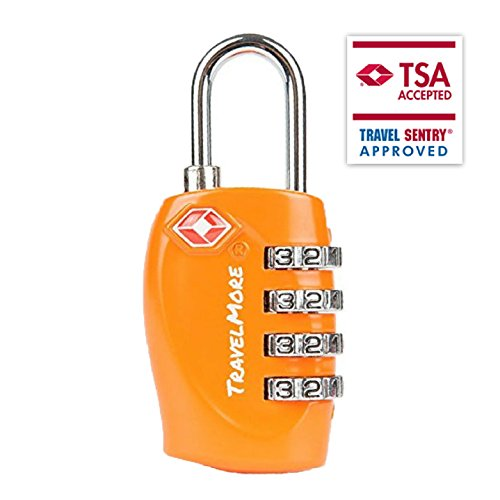 Approved Luggage Combination Padlocks Suitcases