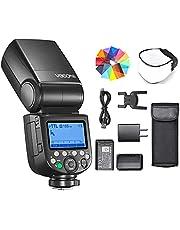 Godox V860III-N Flash for Nikon Camera Flash Speedlite Speedlight 7.2V/2600mAh, 2.4G Wireless HSS 1/8000 1.5s Recycle Time 10 Levels LED Modeling Light for Nikon D5600 D7500 D850 D750 D7100 D3400, etc