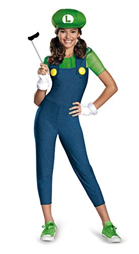 Nintendo Super Mario Brothers Luigi Tween Costume, Large/10-12 for $<!--$37.15-->