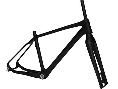 Flyxii Full Carbon Matt Mountain Bike MTB Bicycle Frame 18' Fork