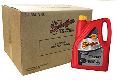 schaeffer-manufacturing-co-0711ck4-006-synshield-otr-plus-10w-30-diesel-oil-6-gal-bottle-pack-of-6