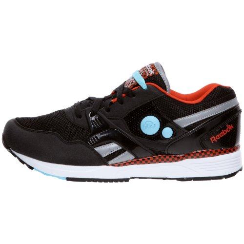 Chaussures argent rouge Homme Running bleu Reebok blanc Noir Pump Dual Multisport qSW0t