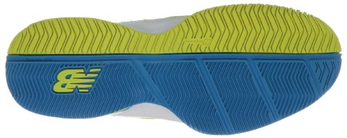 888098094114 - New Balance Women's WC786 Tennis Shoe,White/Yellow,7.5 2A US carousel main 2
