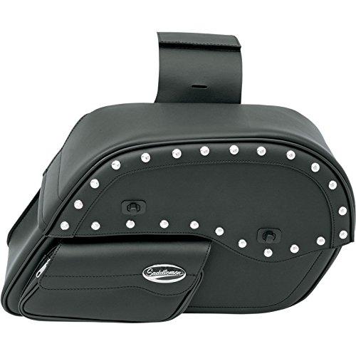 - Saddlemen (Sadorumen) saddle bag DESPERADO SLANT FACE POUCH SADDLEBAGS (Desperado slant face pouch saddle bag) Large size P-3501-0385