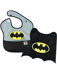 DC Comics Batman SuperBib, Baby Bib, With Cape,...