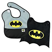 Bumkins DC Comics SuperBib with Cape, Batman (6-24 Months)