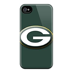 Fashionable Style Case Cover Skin For Iphone 4/4s- Green Bay Packers by lolosakes