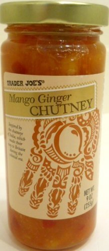 Trader Joe's Mango Ginger Gourmet Chutney Inspired By the Chutneys of India Great on Sandwiches , Hot or Cold Meats by Trader Joe's [Foods]