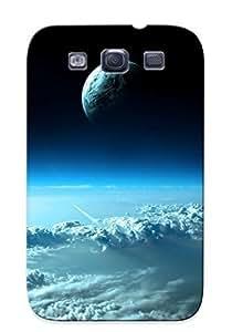 Hot Clouds First Grade Tpu Phone Case For Galaxy S3 Case Cover