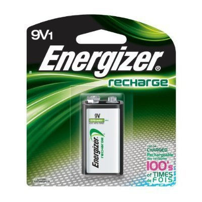 Energizer NH22NBP ACCU Rechargeable 9V Battery by Energizer