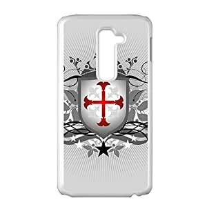 Creative Cool Shield Badge Custom Protective Hard Phone Cae For LG G2