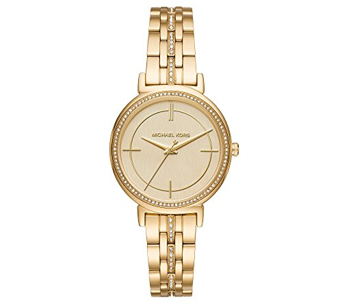 Michael Kors Women's Goldtone Cynthia Watch
