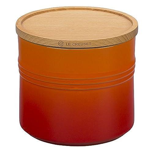 Orange Kitchen Set: Orange Kitchen Canisters: Amazon.com