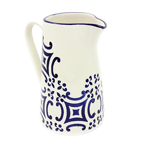 Portugal Gifts Hand-painted Ceramic Pitcher Made in Portugal by Portugal Gifts