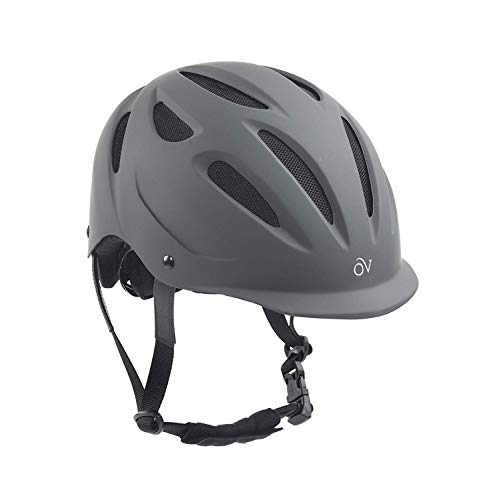 Ovation Women's Protege Riding Helmet, Gray Matte, Small/Medium