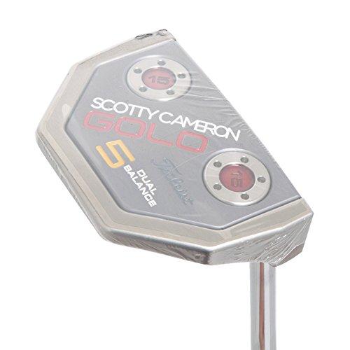 スコッティキャメロン GoLo GoLo 5 デュアルバランス パター シャフト:スチール 37の商品画像