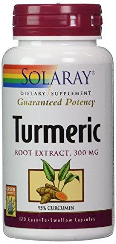 Solaray - Turmeric Root Extract, 120 capsules (Turmeric Extract Root)