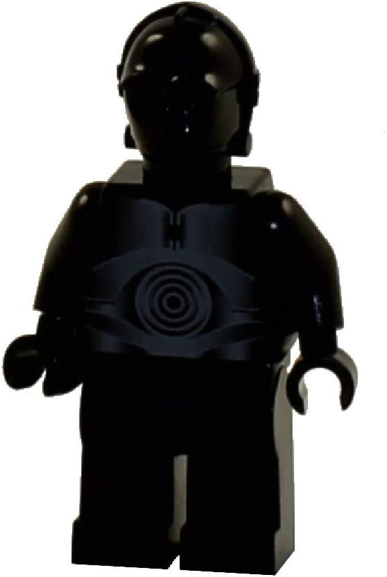 LEGO Star Wars Minifigure from Death Star - Black Protocol Droid (10188)