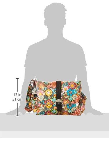 Kalencom Laminated Buckle Bag, Retro Floral by Kalencom (Image #6)
