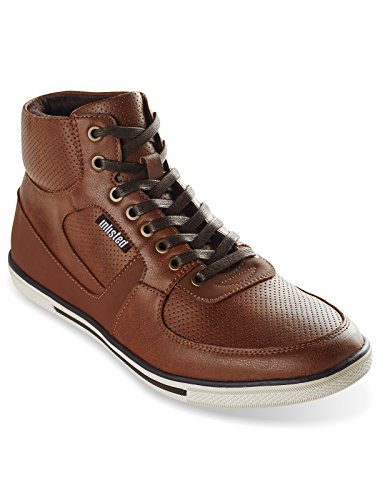 No Listado Por Kenneth Cole High Crown Hi-tops Cognac 14 W