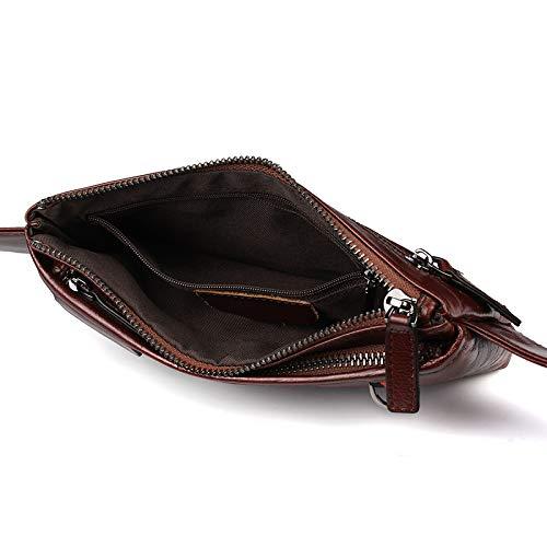 Escalade En Homme Plus Pour Véritable Extérieur Iphone Porter Sac Doux Mince Pack 5 S6 Course Samsung Fanny 6 S5 Gscshoe Femmes Taille Cuir xwCq1Xz