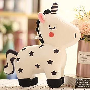 GMADD Muñeca Cute Five Star Unicorn Doll Peluche Muñeca Niña ...