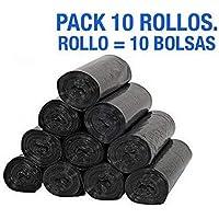 Pack 10 rollos de bolsas de basura