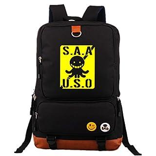 Siawasey Assassination Classroom Anime Cosplay Backpack Shoulder Bag School Bag