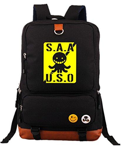 Siawasey Japanese Anime Cosplay Luminous Daypack Backpack Shoulder Bag School Bag