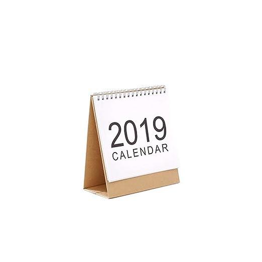 Calendario Calendarios de Escritorio Calendarios d Nuevo 2019 Año ...