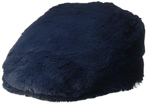 Kangol Men's Faux Fur Cap, Navy, S