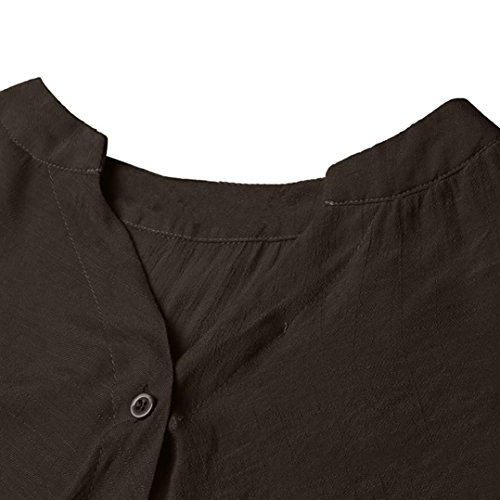 Guesspower Chemise Simple Chemise Solide Button Hauts Pull Chemisier Basique Femmes Size Casual Sport Femme Kaki Chemiser Manches Tops Blouse Chemisier Longues Plus Shirts rxrnPwpzOq