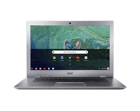 Acer 15.6in FHD(1920x1080) IPS Touchscreen Business Chromebook- Aluminum Metal Body, Intel Celeron N3350 Processor, 4GB LPDDR4 RAM, 32GB SSD, WiFi, Bluetooth, Chrome OS-(Renewed) (32GB)