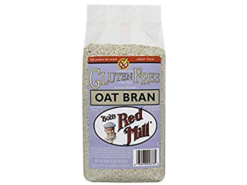 Oat Bran Hot Cereal (18 Ounce (Pack of 4, Stand up Pouch.))