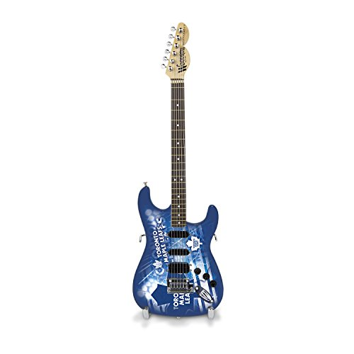 Woodrow Guitar by The Sports Vault NHL Toronto Maple Leafs Collectible Mini NorthEnder Guitar