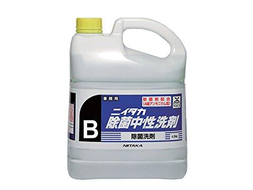 業務用 除菌洗浄剤 ニイタカ 除菌中性洗剤B 4KX4本 中性洗剤 B0763TKLMC