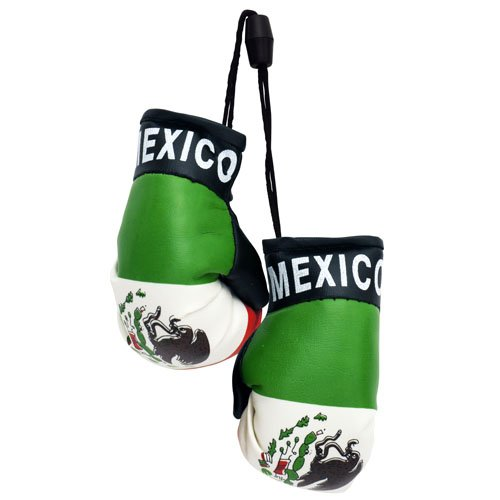 flagsandsouvenirs Boxing Gloves MEXICO