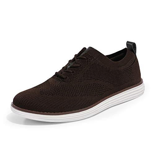 Bruno Marc Men's Mesh Oxford Shoes Wingtip Oxford Casual Dress Sneakers