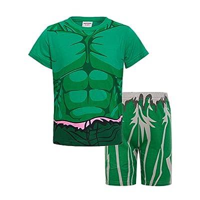 Rling Boys Shorts 2 Piece Pajama Set 100% Cotton,Size 3-6Yrs