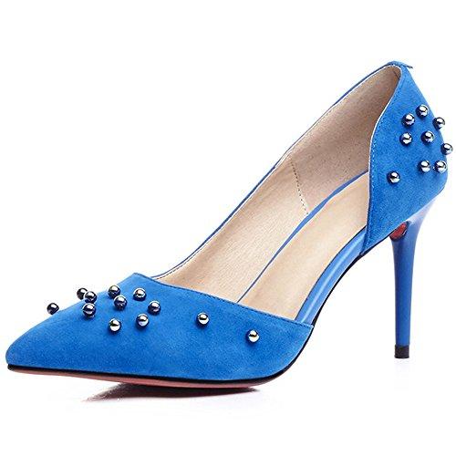 Nine SevenHeels - Sandalias con cuña mujer Azul