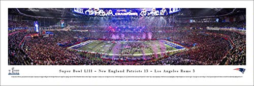 New England Patriots - 2019 Super Bowl LIII Champions - Unframed Poster by Blakeway Panoramas