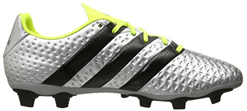 Adidas Performance As 16,4 fg / ag zapatos de fútbol, â??â??negro / shock rosa / verde de choque, 6 Silver Metallic/black/electricity